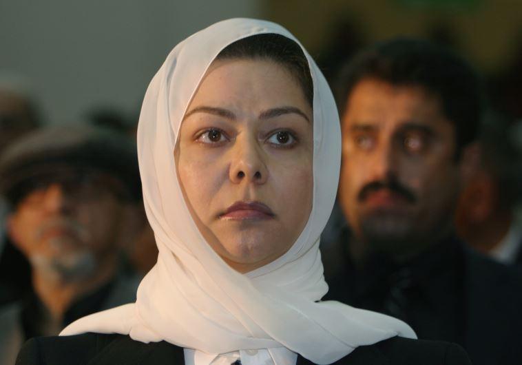 Raghad Saddam Hussein, daughter of the former Iraqi president Saddam Hussein. (photo credit:REUTERS)