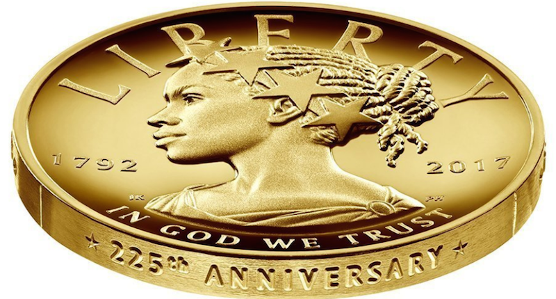 American Liberty 225th Anniversary gold coin (US Mint).