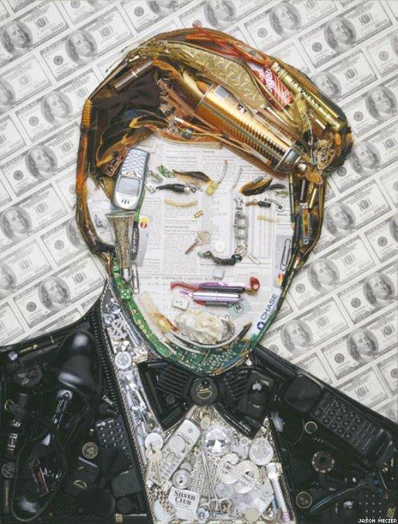 Donald Trump, by Jason Mecier.