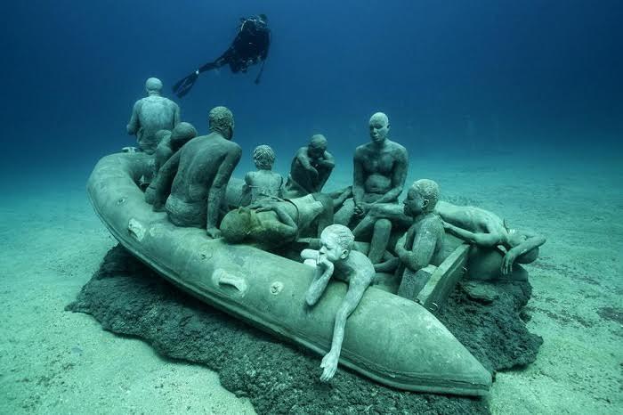 The Raft of Lampedusa.