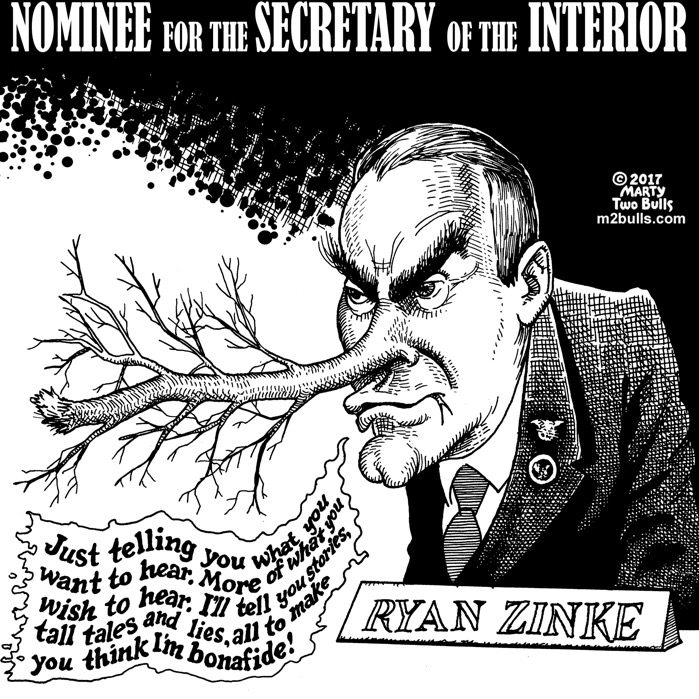 marty-Two-Bulls-Cartoon-The-Tall-Tales-of-Nominee-Ryan-Zinke