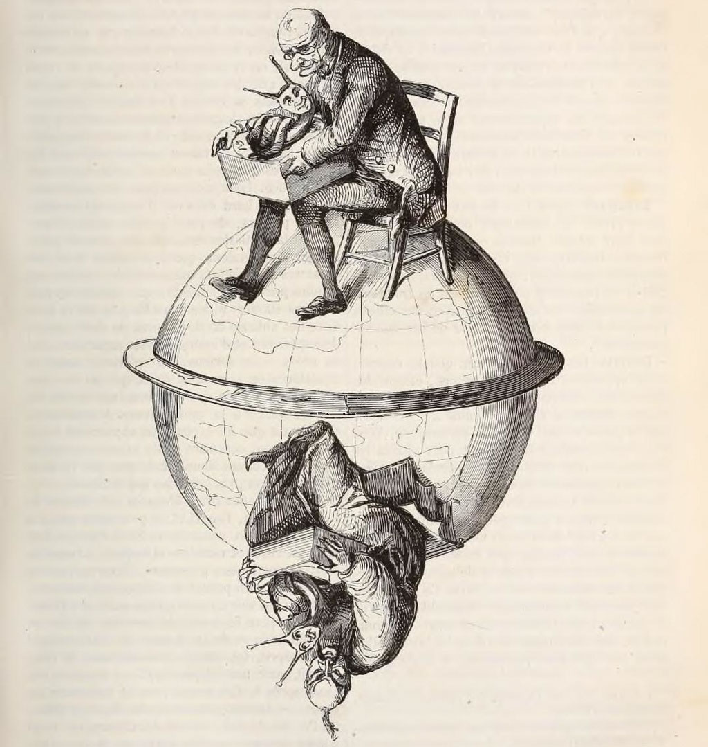 Escargots. Jacques Collin de Plancy - Dictionnaire infernal.