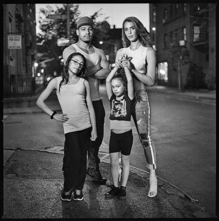 """Mark Seliger, """"Adrian Torres and Carmen Carrera"""" (2015), gelatin silver print, 36 x 36 inches, Edition of 7+2AP (all images courtesy the artist and Von Lintel Gallery)."""