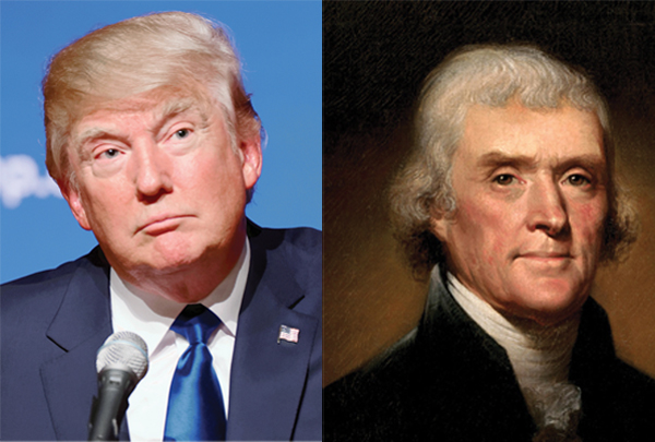 From a Native American's perspective, Trump is acting more like the Founding Fathers than Hitler.