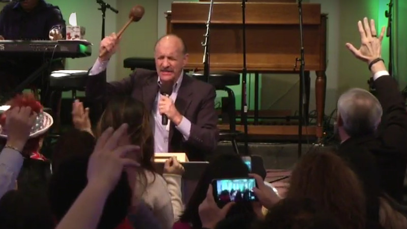 Lou Engle speaking at POTUS Shield Heartbeat Ohio conference, March 10, 2017.