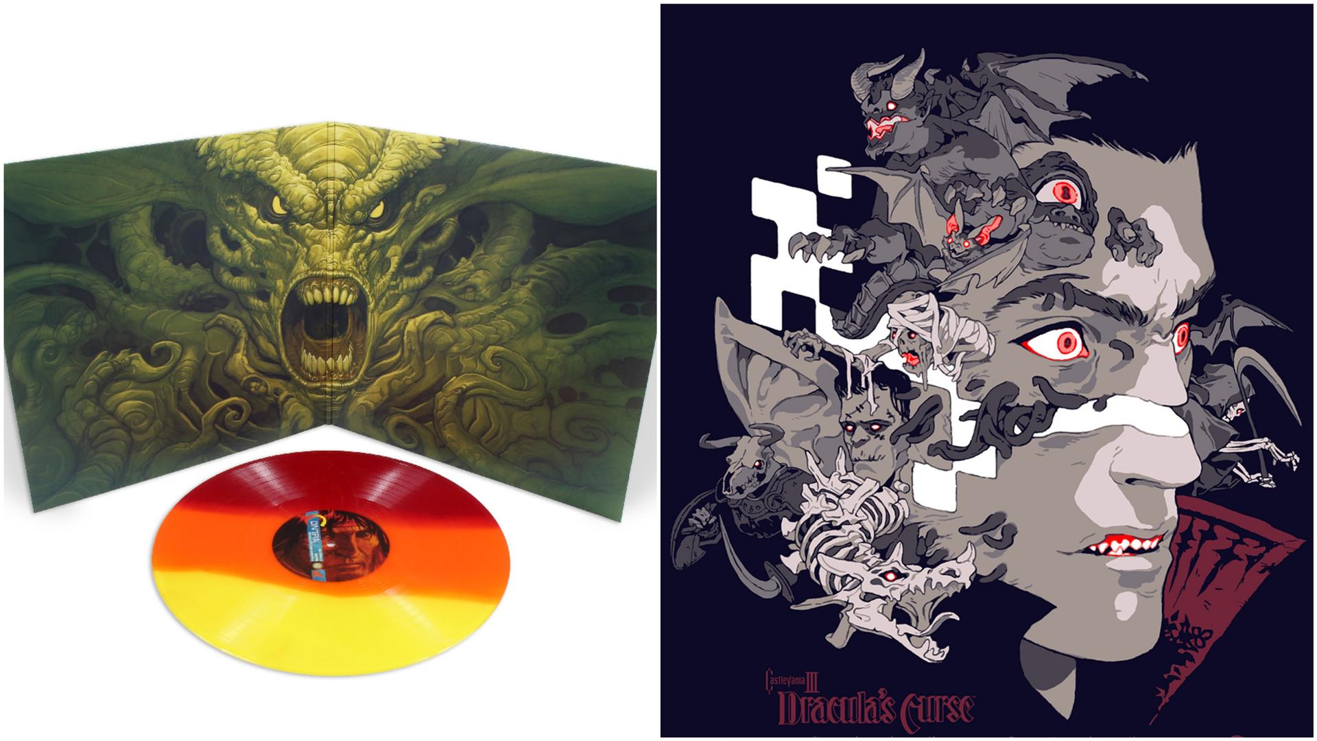 Indywatch feed allworld contra and castlevania are two of the most iconic video games in history and both recently got brand new poster art and soundtrack lps from mondo fandeluxe Gallery