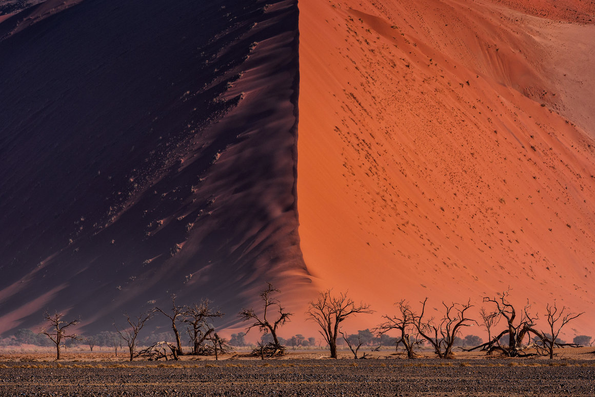 The Great wall of Namib. Paranyu Pithayarungsarit, Thailand, Shortlist, Open, Landscape & Nature (2018 Open competition), 2018 Sony World Photography Awards.