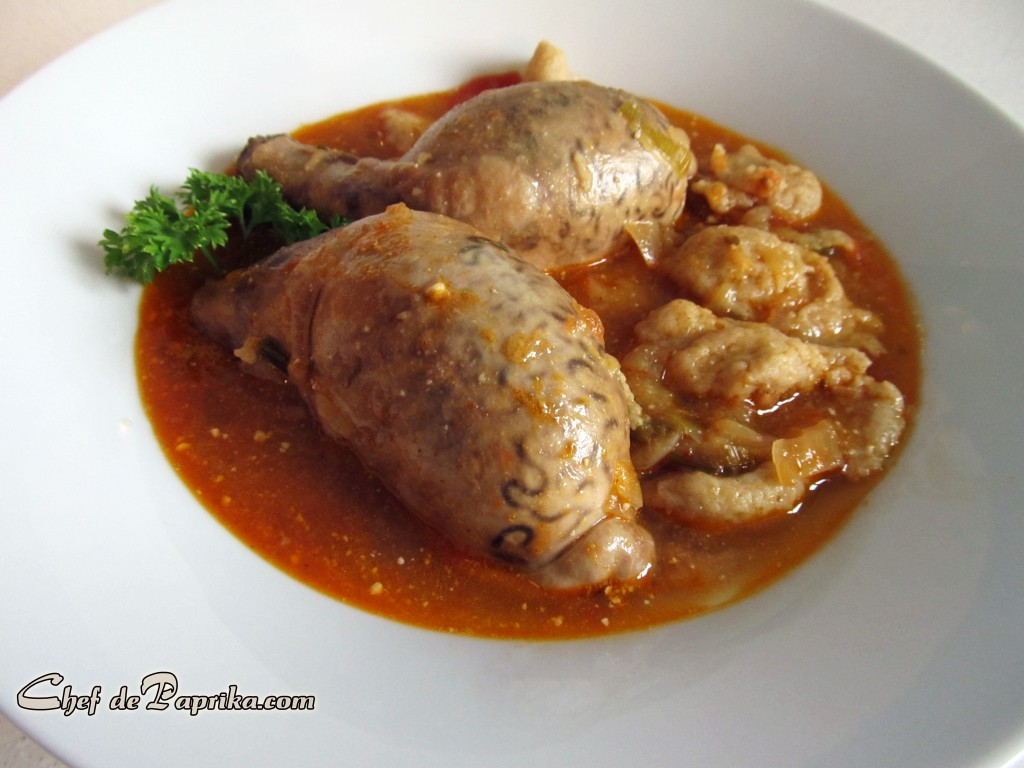 Veal testicle stew.