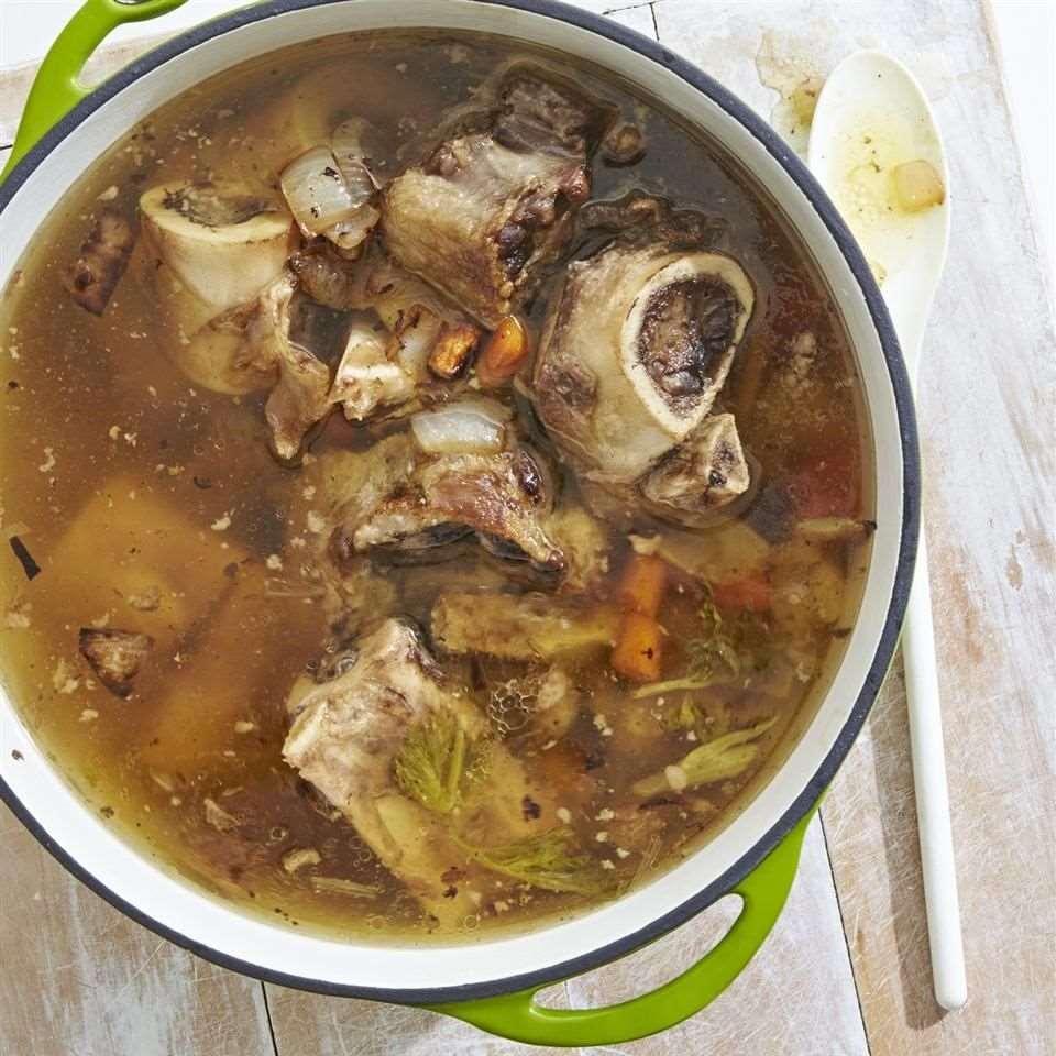 Bone soup.