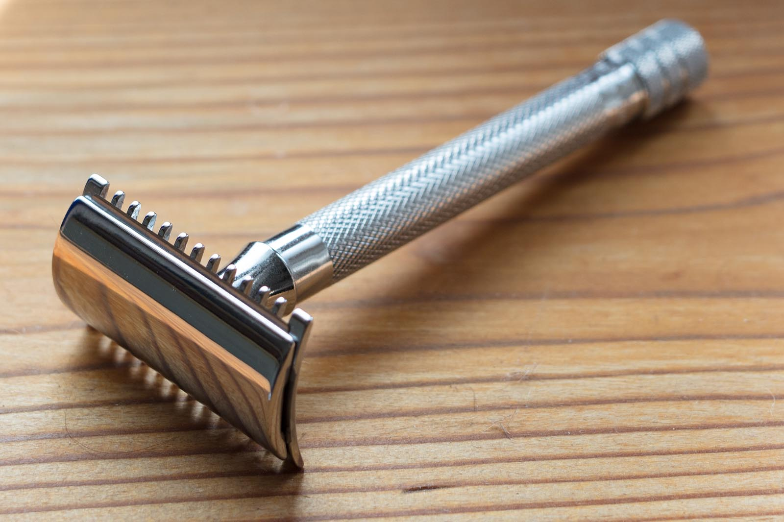 My double-edge safety razor.