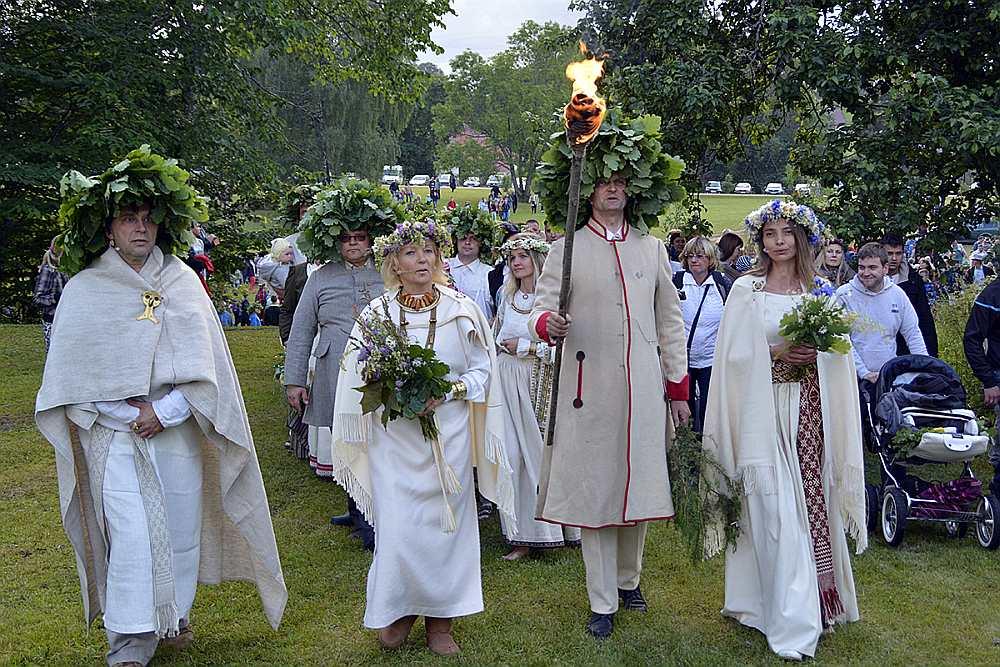 Summer solstice celebration.