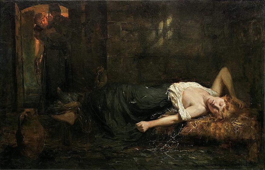 """""""The Nihilist"""" by Paweł Merwart."""