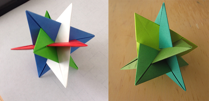 A side-by-side comparison of the WXYZ Impostor and WXYZ Triangles
