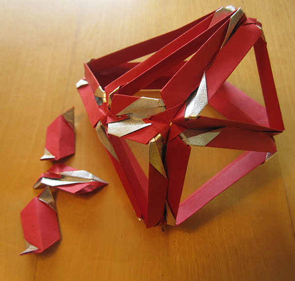 failed flexible polyhedron