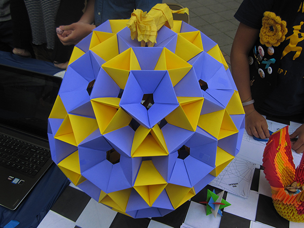 A polyhedra made out of 360 edges