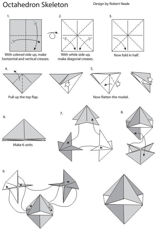 Diagrams for the Octahedron Skeleton