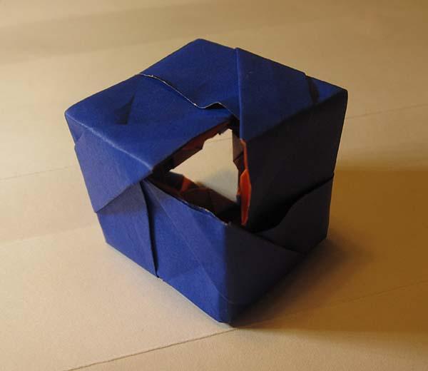 Toroidal cube