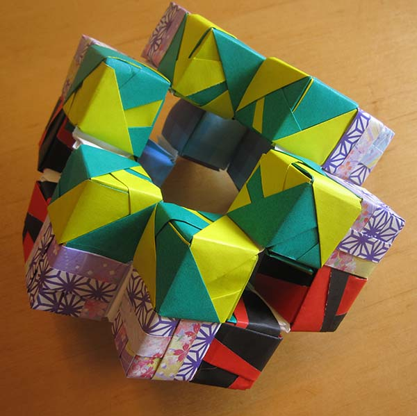 A model consisting of many little cubes attached together