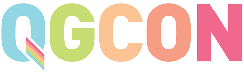 The QGCon logo