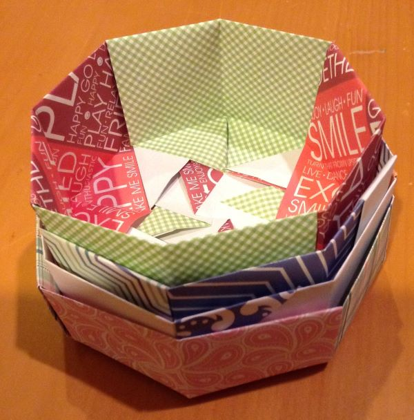 octagonal boxes, nested