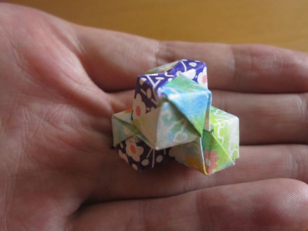 Four cubes
