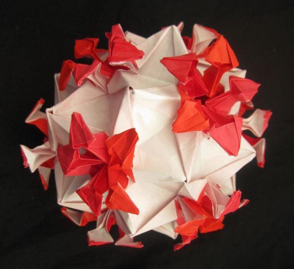 Coronavirus origami
