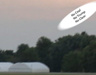 UFO crew displays its dislike of the rule require all UFOs to by fueled by burning coal.