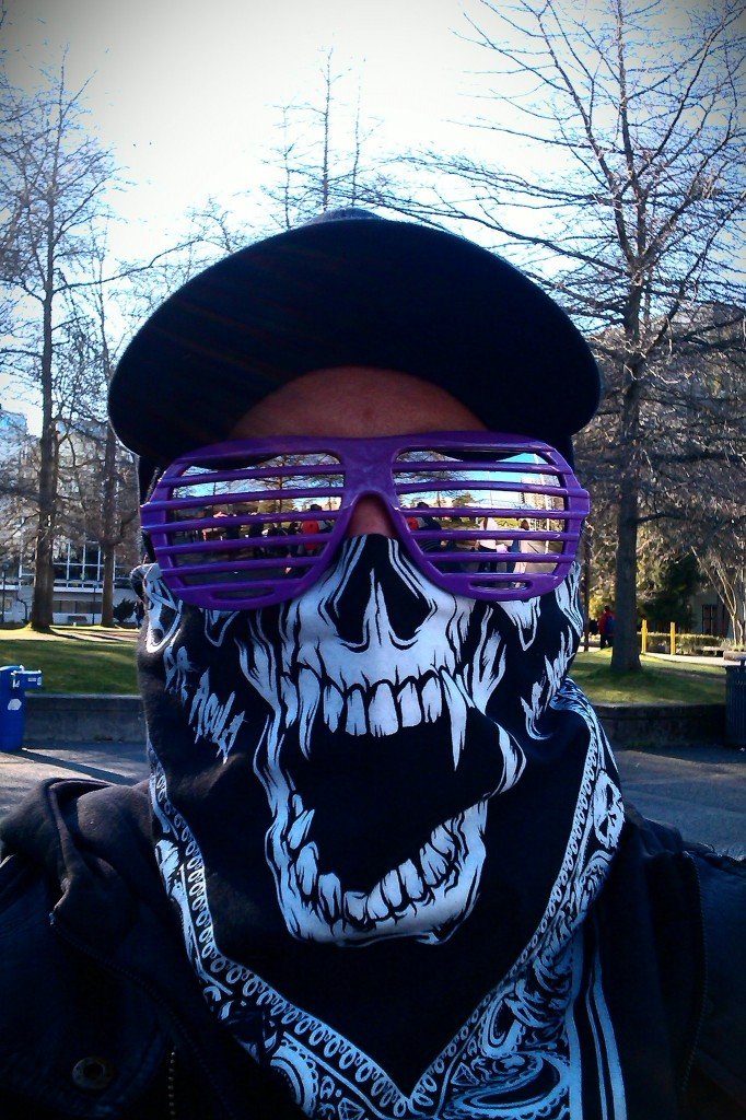 """Sometimes the real grassroots wear a fucking mask. And before you challenge my use of the word """"real"""" here, sometimes there actually are fake grassroots."""