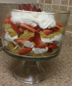 Victoria Sponge Trifle