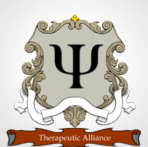 No, I didn't spend lots of my afternoon creating a logo for a fictional, crime-fighting Therapeutic Alliance. What makes you ask such a thing?