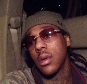 Sylville K Smith taking a selfie in his car.