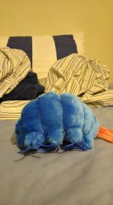 Blue Tardigrade Plushie