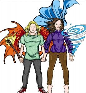 Alaric and Vicki