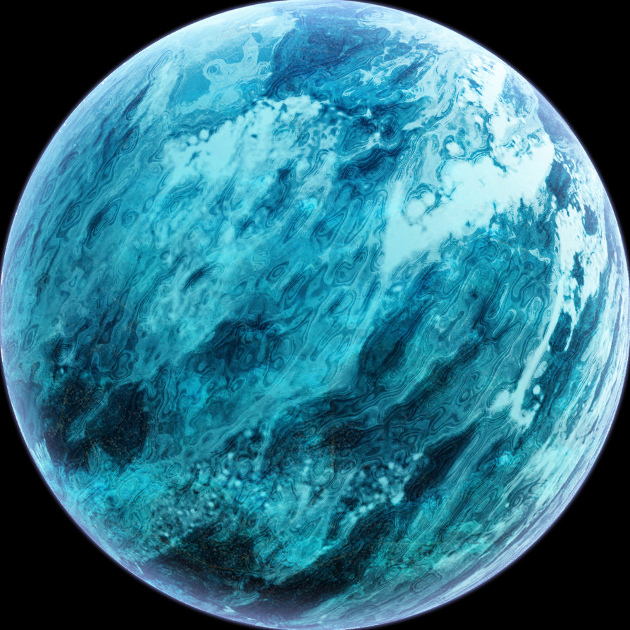 Planet With Water 106