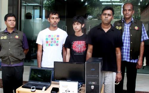 Asif Mohiuddin, Subrata Adhikari Shuvo, Moshiur Rahman Biplob and Rasel Parvez
