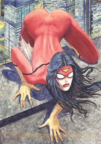 SpiderWoman1MiloManara