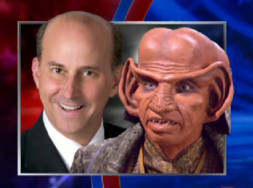 I'm even more sure Louis Gohmert is Ferengi now