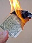 dollar-burning