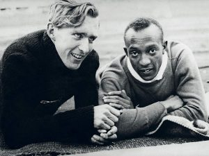 Jesse Owens and Luz Long. Image courtesy Reader's Digest.