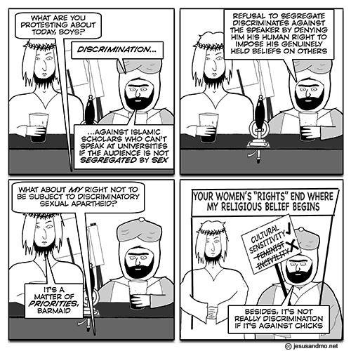 J&M sex discrimination