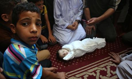 Israeli attack kills Palestinian baby