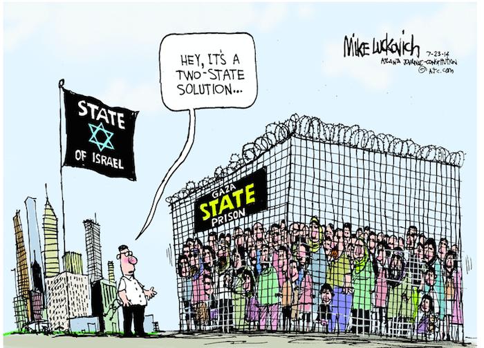Luckovich-Gaza