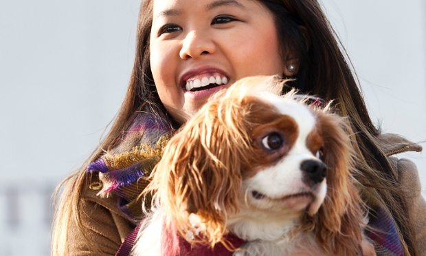 Nurse Nina Pham is reunited with her dog Bentley