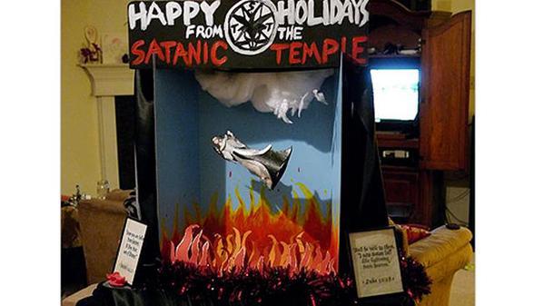 satanist diorama