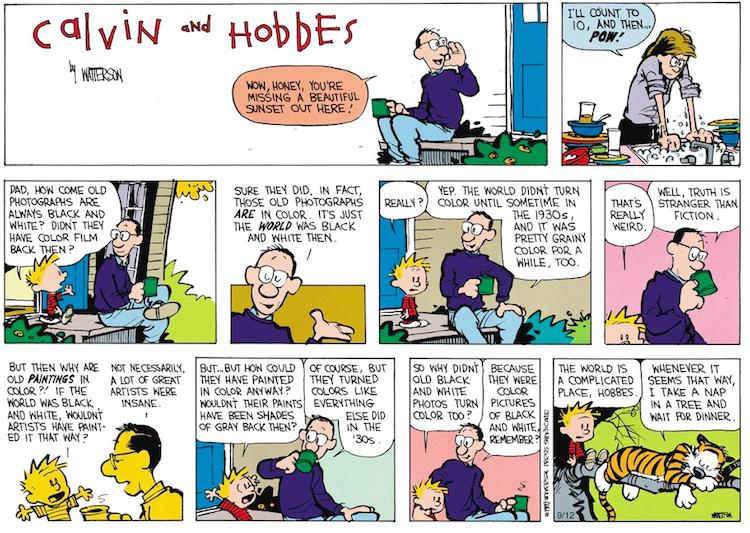 Calvin Hobbes color