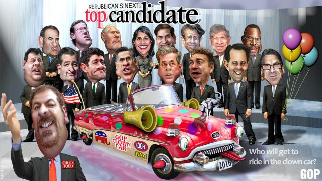 Republican candidates for 2016