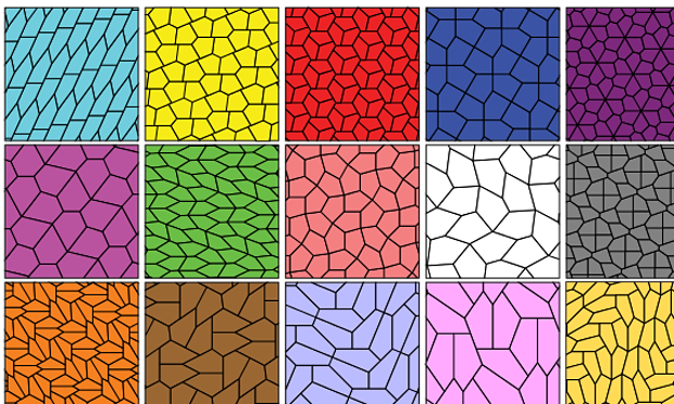 pentaon tiles all