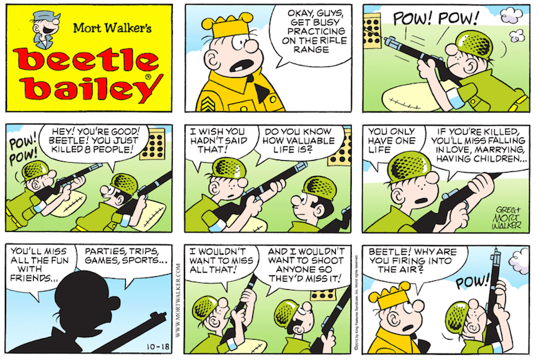 about comic Whos beetle strip bailey the