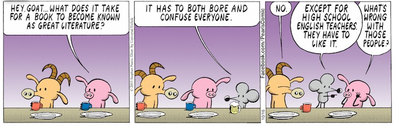 Pearls before swine literature