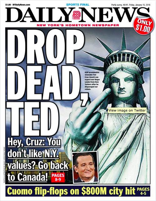 NY Post on Cruz
